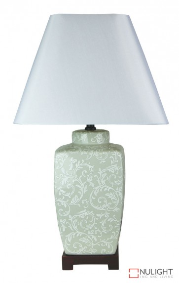 Liling Ceramic Table Lamp With Shade ORI
