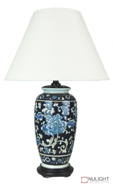 Yanyu Chinese Ceramic Table Lamp With Shade ORI