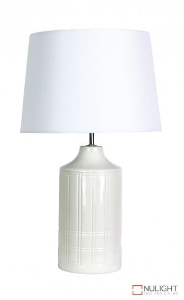 Holm Ceramic Complete Table Lamp ORI