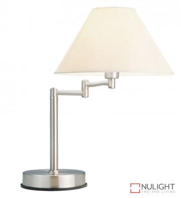 Zoe Touch Lamp Brushed Chrome ORI