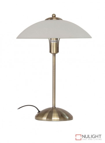 Tracey Touch Lamp Antique Brass ORI