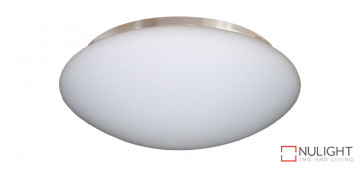 210mm Opal White Glass - 2 x B22 Lamp Holder - 316 Stainless Steel Rim VTA