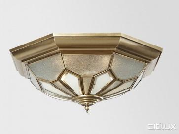 Old Toongabbie Classc Brass Pendant Elegant Range Citilux
