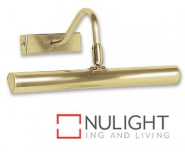 Picture Light 2Xg9 25W Brushed Brass ASU