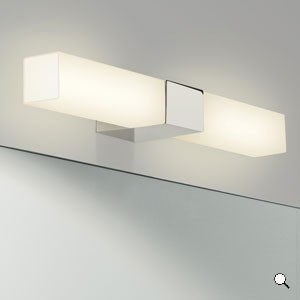 Lighting Australia PADOVA SQUARE Bathroom Wall Lights Astro - Square bathroom sconce
