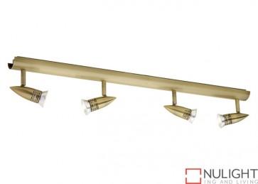 Proton 4 Light Rail Antique Brass COU