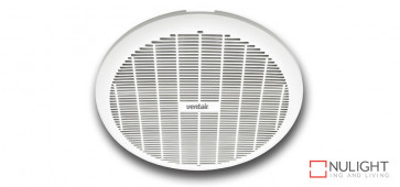 GYRO 250 - 10 inch  Round Plastic Grille - Ball bearing motor- Plug and Cable included - 3 year warranty -  White VTA