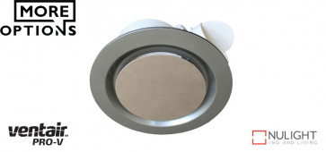 AIRBUS 200 - 200mm Premium Quality Side Ducted Exhaust Fan - Extra Low Profile - Round VTA