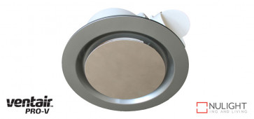 AIRBUS 250 - 250mm Premium Quality Side Ducted Exhaust Fan - Extra Low Profile - Silver VTA