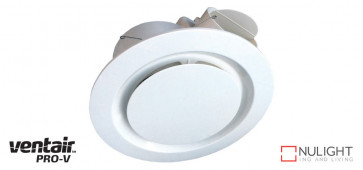 AIRBUS 250 - 250mm Premium Quality Side Ducted Exhaust Fan - Extra Low Profile - White VTA