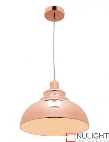 Risto 1 Light Pendant Copper COU