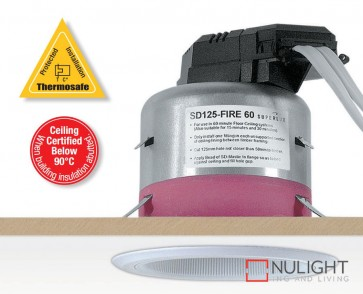 Down Light Sd125 Fire Rated 60Min ASU