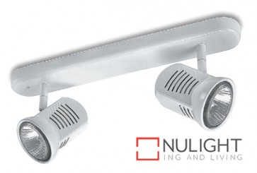 Spot Halogen 75W Bar 2 White ASU