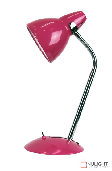 Trax Desk Lamp Pink ORI