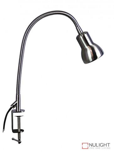 Scope Clamp Lamp Brushed Chrome ORI
