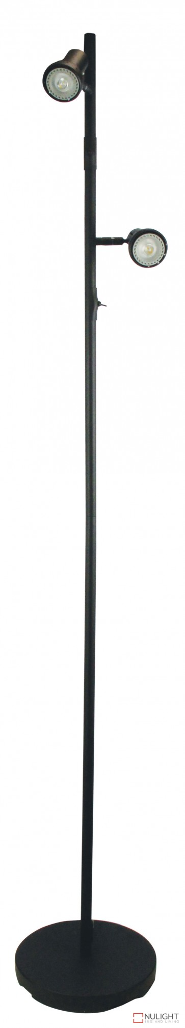 Daxam Led Twin Floor Lamp Black ORI