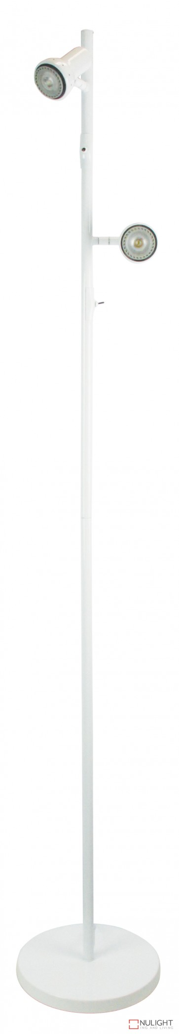 Daxam Led Twin Floor Lamp White ORI