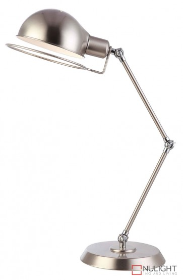 Jazz Desk Lamp Brushed Chrome - Chrome ORI