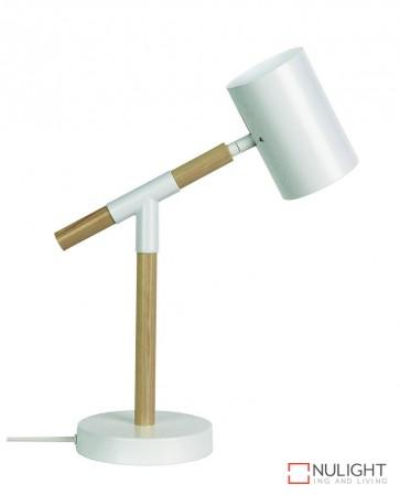 Ludo Desk Lamp Matt White ORI