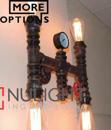 STEAM series interior decorative aged iron pipe wall lights CLA