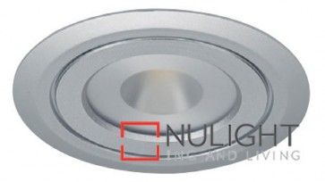 Under Cabinet Flat 4W Silver 3000K Led Furniture Light ASU