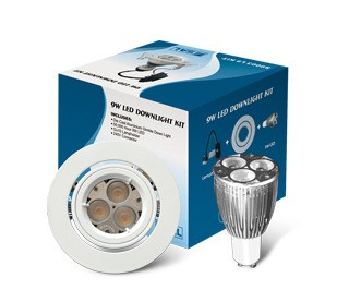 Budget LED Downlight Gimble Kit Sunny Lighting