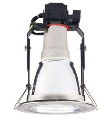 Cairns 12.8 cm Energy Saving Downlight / E27 with Flex and Plug Sunny Lighting