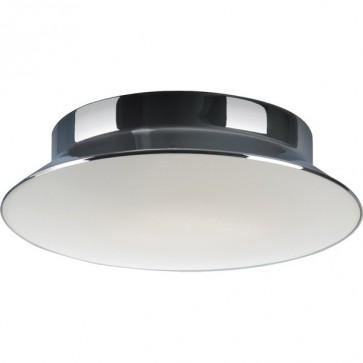 Divine 30cm Flush Mount Ceiling Light in Chrome Sunny Lighting