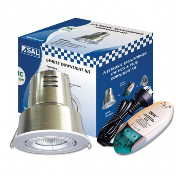 Downlight Recessed Lighting Kit Irc with Can and Plug S9003 CIMP Sunny Lighting
