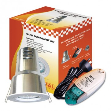 Downlight Recessed Lighting Kit Mini60 with Can and Plug S9001 cmP Sunny Lighting