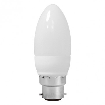 Energy Saving Lamp Candle Shape Compact Fluorescent Bulb B22 Sunny Lighting