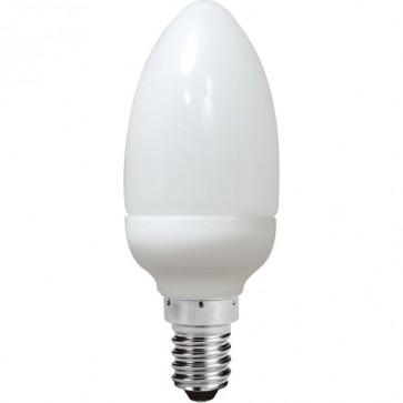 Energy Saving Lamp Candle Shape Compact Fluorescent Bulb E14 Sunny Lighting