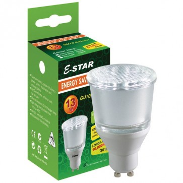 Energy Saving Lamp Compact Fluorescent Bulb Gu10 Sunny Lighting