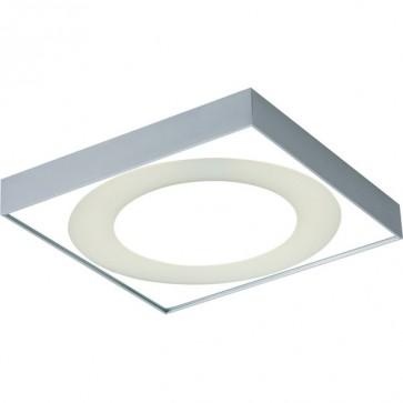 Floriart Flush Mount Ceiling Light in Anodise Silver Sunny Lighting