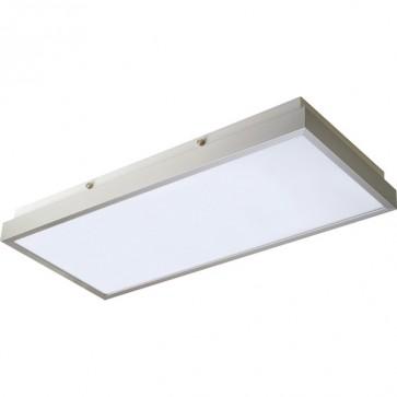 Florio Flush Mount Ceiling Light in Silver SO3147-214 Sunny Lighting