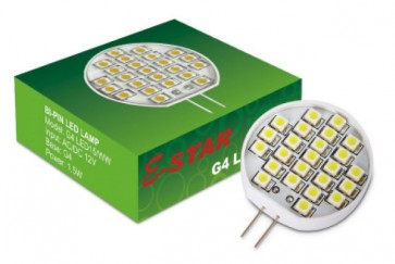 G4 1.5W Bi-Pin Disc LED Lamp Sunny Lighting