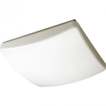 Jewel Flush Mount Ceiling Light in White Sunny Lighting