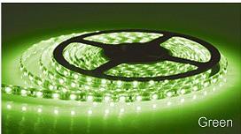 LED Strip Light in Green Sunny Lighting
