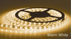 LED Strip Light in Roll Warm White Sunny Lighting