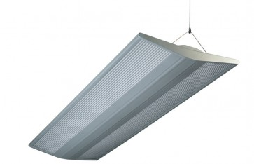 Mackay Electronic Ballast Pendant in Anodized Silver Sunny Lighting