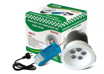 Master Dimmable Driver LED Lamp with Flex and Plug in Warm White Sunny Lighting