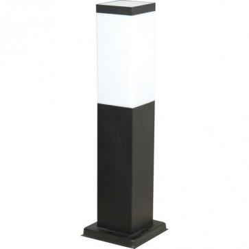 Murray Il Bollard Light in Black SE7047 Sunny Lighting