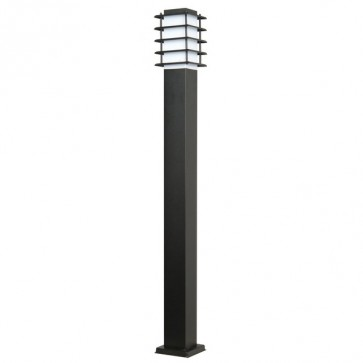 Murray Il Bollard Light in Black SE7058 Sunny Lighting