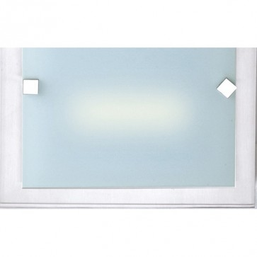 Panel Wall Sconce in Satin Chrome Sunny Lighting