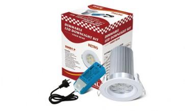 Retro LED Fixed Head Downlight Kit Sunny Lighting