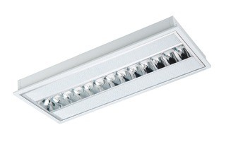 S-Line Recessed Low Brightness T Bar Troffer Light Sunny Lighting