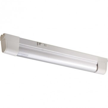 Slimline Fluorescent Strip Light in White Sunny Lighting