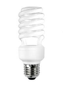 Spiral Compact Tubular Lamp Sunny Lighting