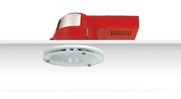 Uni PL Diamond Facetted Reflector Downlight with Dropped Frosted Glass Sunny Lighting
