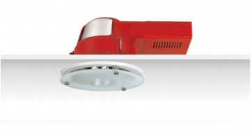 Uni PL Downlight with Dropped Frosted Glass Sunny Lighting